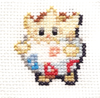 Togepi cross-stitch by Axlish
