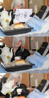 breakfast in bed - jenova by UndercoverKadaj