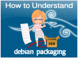 New Debian Packaging Cover by doctormo