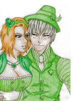 St. Patricks Day GinRan by DevilishMirajane
