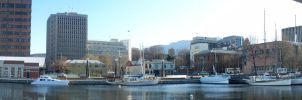 Hobart Cityscape 6 by NYC55david