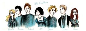 The Cullens by frikibunny8