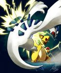 Ampharos used Thunderpunch by LazyAmphy