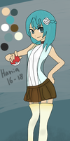 .: Pokemon OC Hania :. by Never-Forget-Me-Not