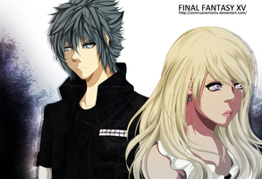 FFXV + Lucis and Nox + by SomnusNemoriis