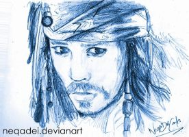 Jack Sparrow 1 by Neqadei