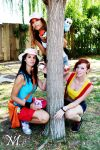 Pokemon trainers!!! by Moony-Cosplay