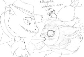 PikaxSnuffles+Pringles by AnimeFan4Eternity23