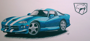 Dodge Viper by PunkIn-Kitty