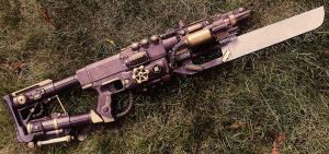Steampunk Assault Rifle (Final) by LandgraveCustoms