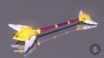 Star Guardian Lux's wand by TheLadyClockWork