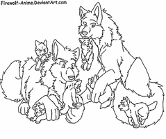 Request - Wolf Pack by Firewolf-Anime