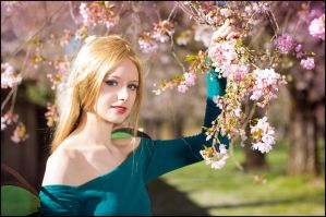 W.i.t.c.h. - cherry blossom by AlBhedNika