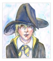 Hufflepuff Cole by liannimal