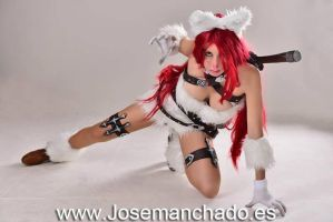 Kitty Cat Katarina Cosplay. League of Legends. by Morganita86