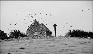 The high cross at Cloncha, Culdaff,Co Donegal by celtboy
