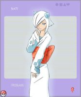 Pokedex Froslass gijinka by poplarleaves