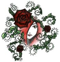 red roses by Samidare88