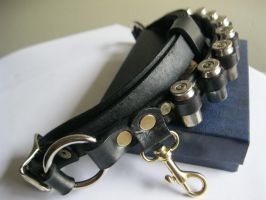 Leather Bandolier by passbyguy