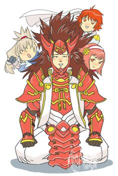 FE - Ryoma of the Mighty Hair by aimo