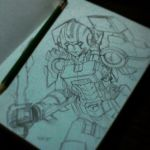 Arcee Sketch by BryanSevilla