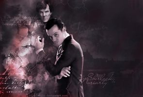 Sherlock and Moriarty by FelisiaLettise
