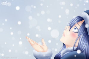 Juvia - White Snow by NickLeon5