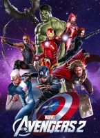 The Avengers 2 Poster by Timetravel6000v2
