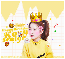 HAPPY BIRTHDAY KANG SEULGI by suceobaby