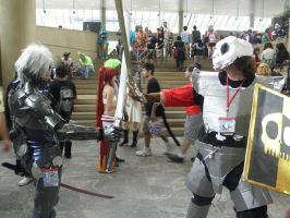 Otakon 2013 - Sir Daniel vs. Raiden 2 by mugiwaraJM