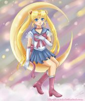 Sailor Moon by Nawal