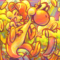 Yoshi's Clusterfuck by psncureberry