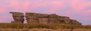 Watern Tor and the Thurlstone by PastyGuy