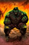 HULK FART HOT FIRE COLORS by RNABrandEnt