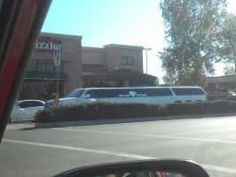 the biggest limo I've ever seen in real life!! by vienna2000