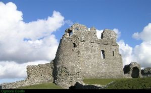 Ogmore Castle South Wales by taramara