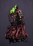Cultist horror by Grimnoley