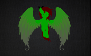 Emerald - Angel Wallpaper by luckyemily12312