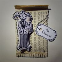 The Watchman - Brooche by PaperTales