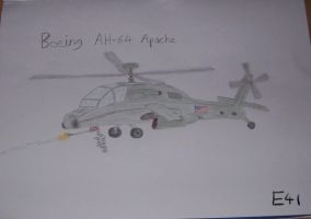 Boeing AH-64 Apache by Shay-Tank-Dragon-41