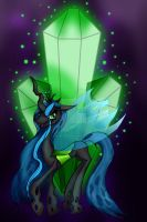 Queen Chrysalis by Bunnygirle26