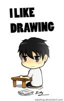 I LIKE DRAWING by EdyZhng
