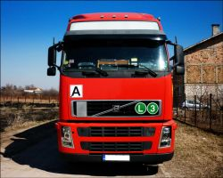 Red Volvo FH12 460 by PepiDesigns
