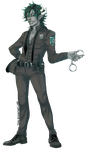 Commission - Officer Kyeran by Czhe
