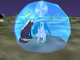 in my bubble XD by krxterme