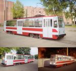Model of tram in urban environment by pnn32