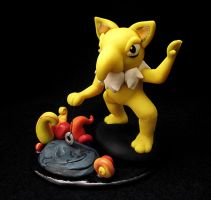Hypno Sculpture with Base by caffwin