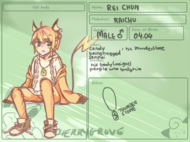[ CherryGrove-City] - Rei Chun by myneea
