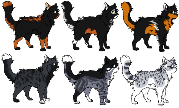 More Free Adoptables by Masked-Massacre
