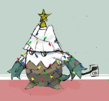 December 4th: The Christmas Tree Pokemon by Talonsword